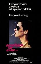 Remember My Name - Alan Rudolph